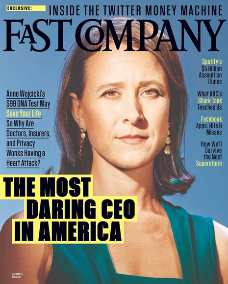 Fast Company Cover - 11/1/2013