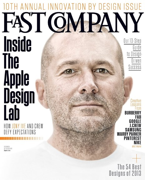 Fast Company Cover - 10/1/2013