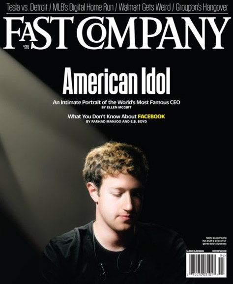 Fast Company Cover - 4/1/2012