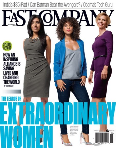 Fast Company Cover - 7/1/2012