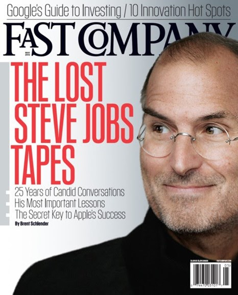 Fast Company Cover - 5/1/2012