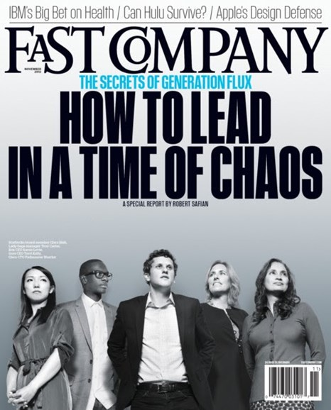 Fast Company Cover - 11/1/2012
