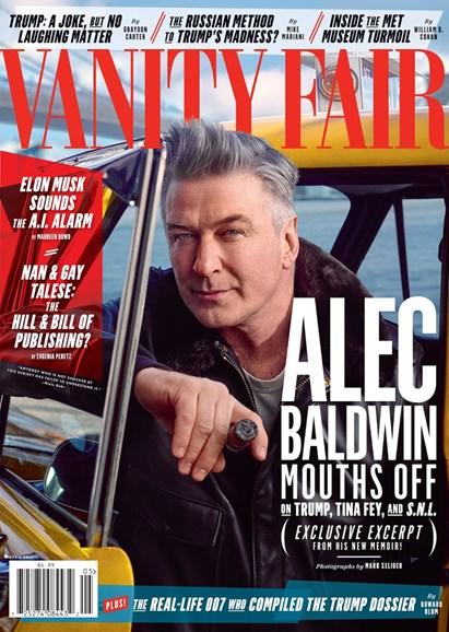 Vanity Fair Cover - 4/1/2017
