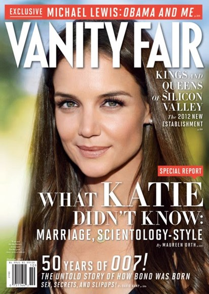Vanity Fair Cover - 10/1/2012
