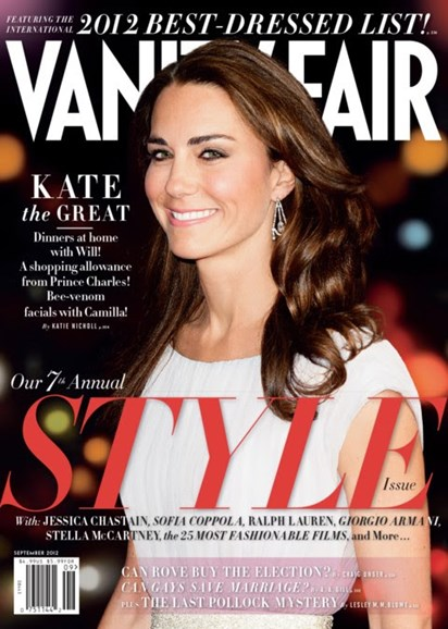 Vanity Fair Cover - 9/1/2012