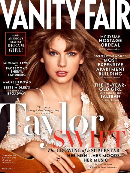 Vanity Fair Cover - 4/1/2013