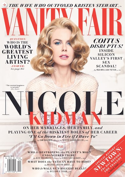 Vanity Fair Cover - 12/1/2013