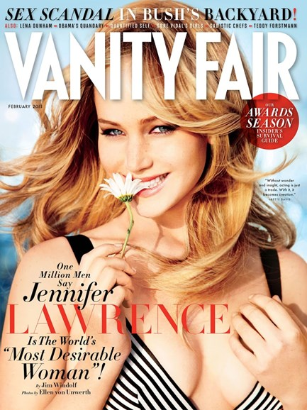 Vanity Fair Cover - 2/1/2013