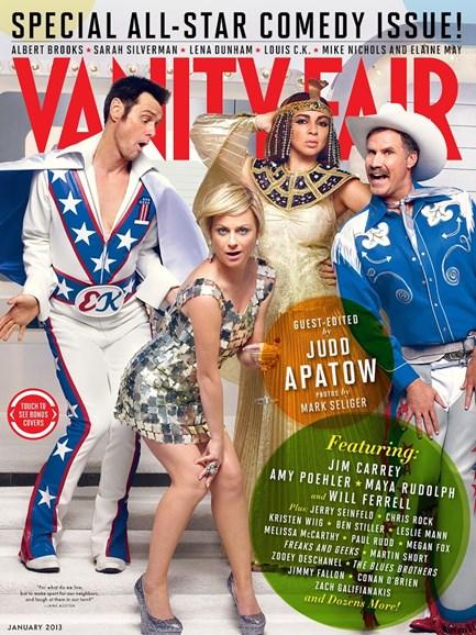 Vanity Fair Cover - 1/1/2013