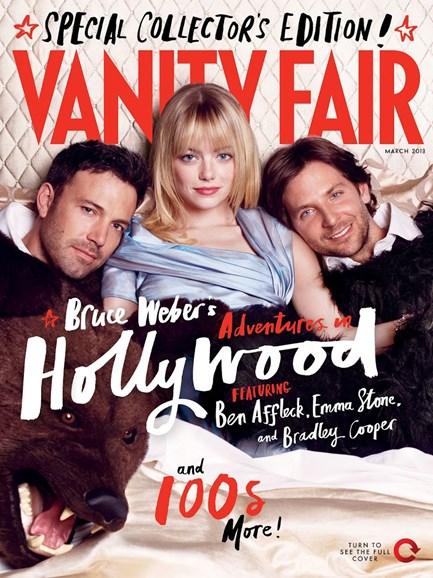 Vanity Fair Cover - 3/1/2013