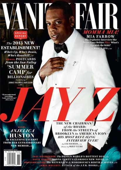 Vanity Fair Cover - 11/1/2013