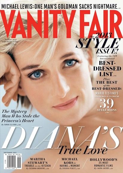 Vanity Fair Cover - 9/1/2013