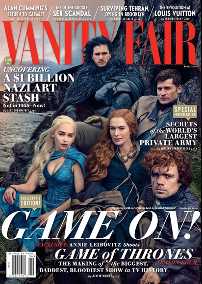 Vanity Fair Cover - 4/1/2014