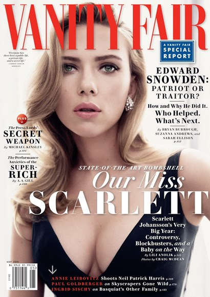 Vanity Fair Cover - 5/1/2014