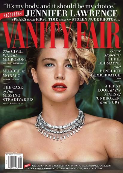 Vanity Fair Cover - 11/1/2014