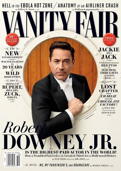 Vanity Fair Cover - 10/1/2014