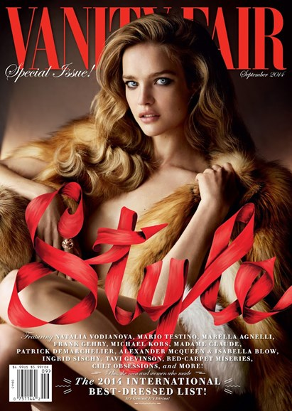 Vanity Fair Cover - 9/1/2014