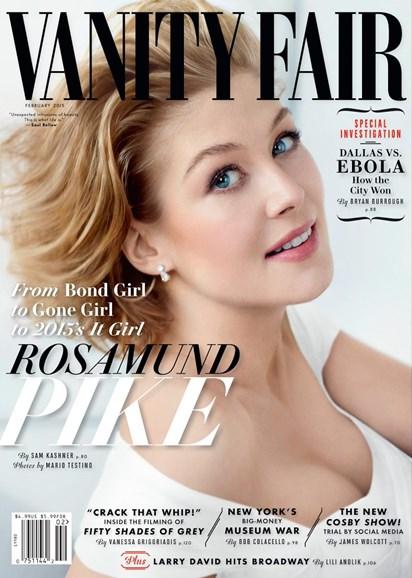 Vanity Fair Cover - 2/1/2015
