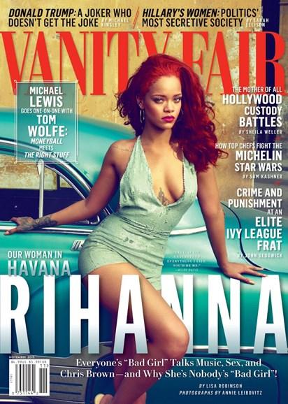Vanity Fair Cover - 11/1/2015
