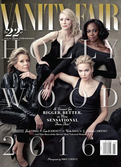 Vanity Fair Cover - 2/15/2016