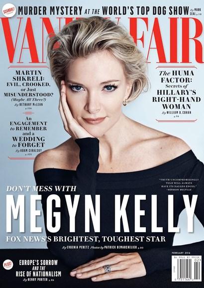 Vanity Fair Cover - 2/1/2016