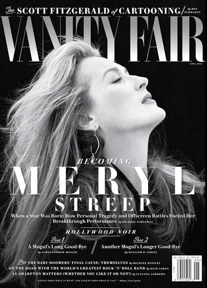 Vanity Fair Cover - 4/1/2016