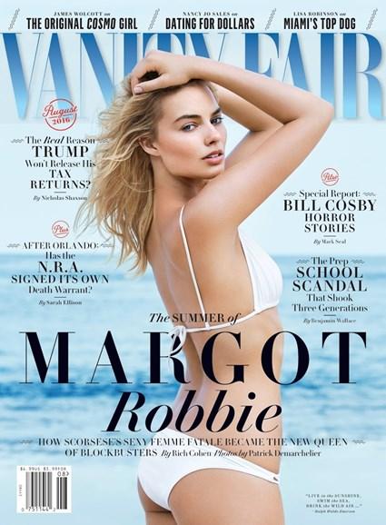 Vanity Fair Cover - 8/1/2016