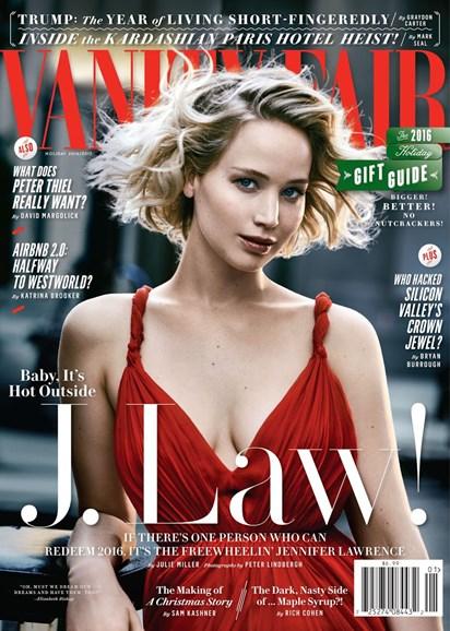 Vanity Fair Cover - 12/25/2016