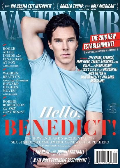 Vanity Fair Cover - 11/1/2016