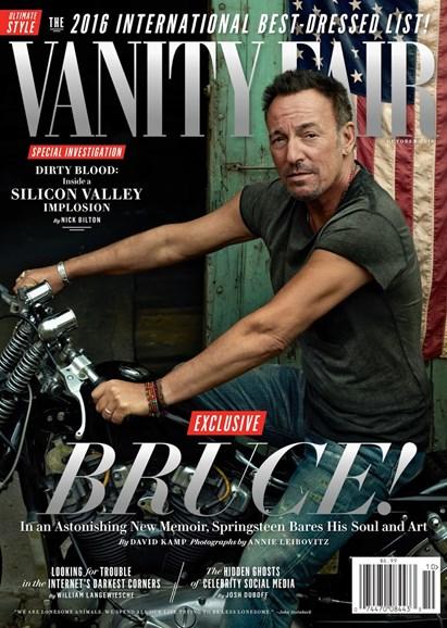 Vanity Fair Cover - 10/1/2016