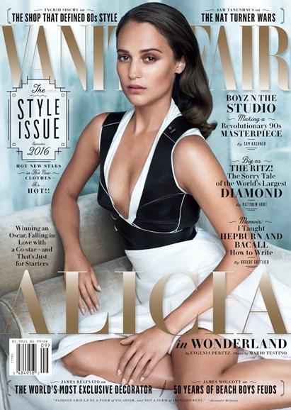 Vanity Fair Cover - 9/1/2016