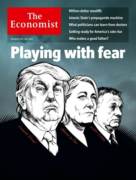 The Economist Cover - 12/12/2015