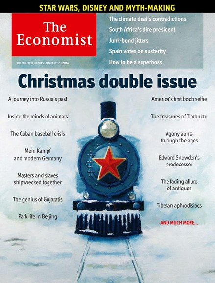 The Economist Cover - 12/19/2015