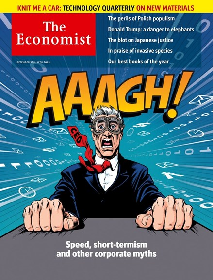 The Economist Cover - 12/5/2015