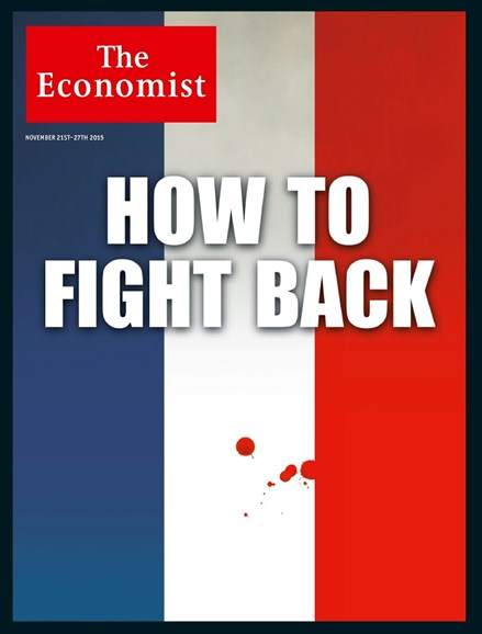 The Economist Cover - 11/21/2015