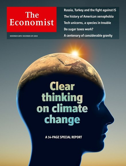 The Economist Cover - 11/28/2015