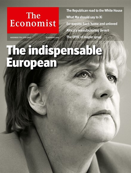 The Economist Cover - 11/7/2015