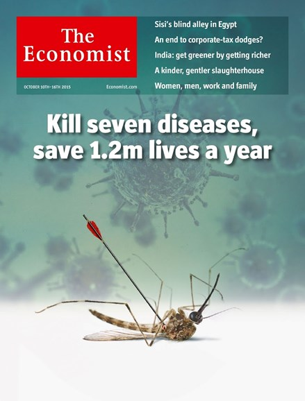 The Economist Cover - 10/10/2015