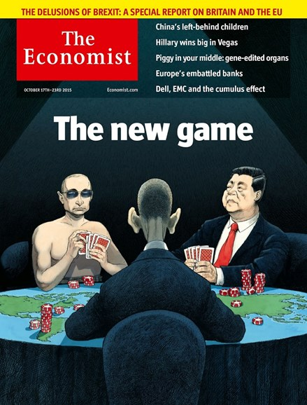 The Economist Cover - 10/17/2015
