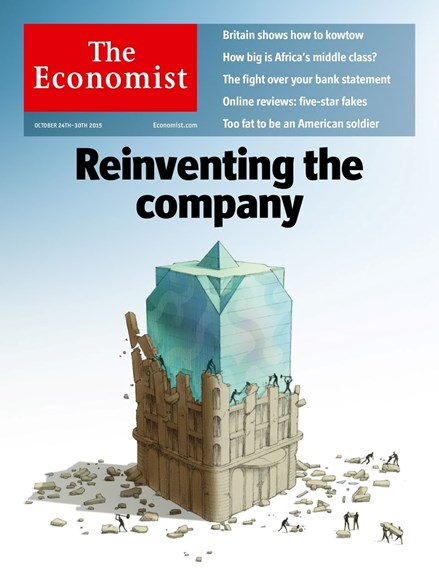 The Economist Cover - 10/24/2015