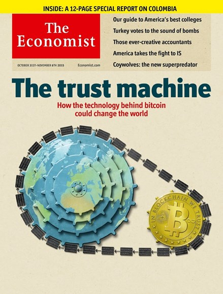 The Economist Cover - 10/31/2015