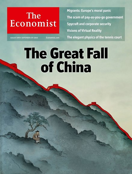 The Economist Cover - 8/29/2015