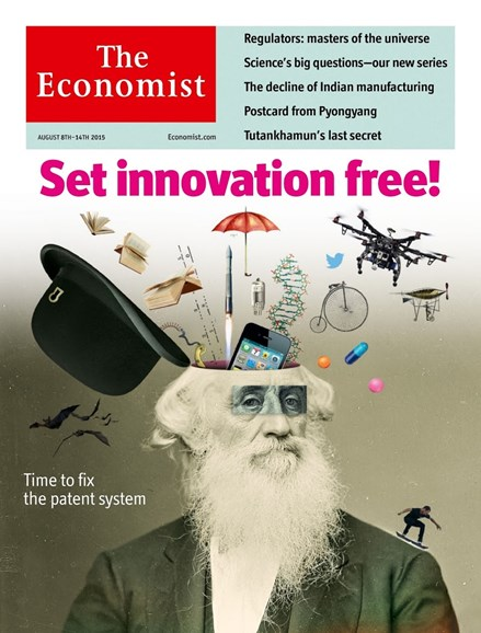 The Economist Cover - 8/8/2015