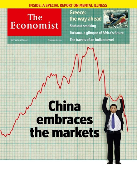 The Economist Cover - 7/11/2015