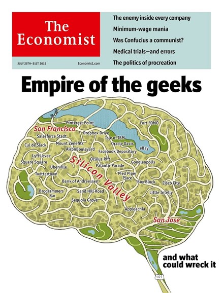 The Economist Cover - 7/25/2015