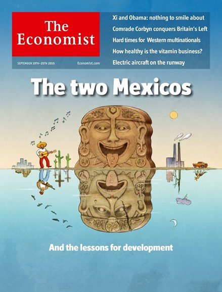 The Economist Cover - 9/19/2015