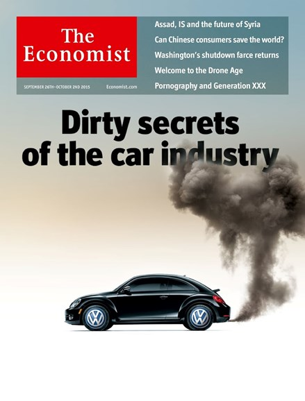The Economist Cover - 9/26/2015
