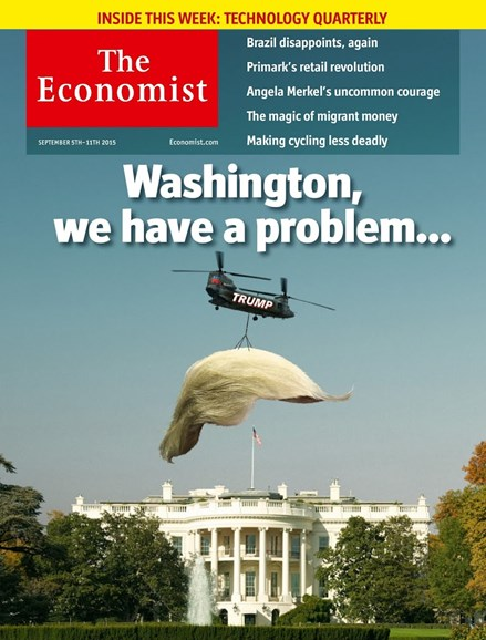 The Economist Cover - 9/5/2015
