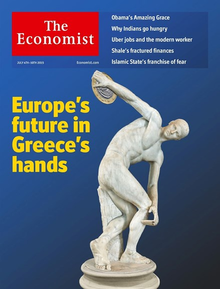 The Economist Cover - 7/4/2015