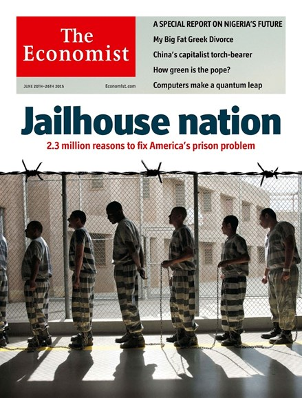 The Economist Cover - 6/20/2015